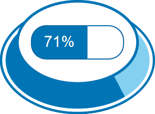 Level of Satisfaction 71%